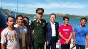 Đưa 5 ngư dân Việt từ Philippines về nước