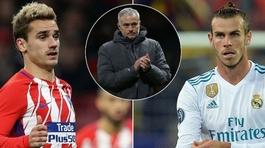 "MU quay ngoắt Bale, Griezmann, Conte ""tống cổ"" David Luiz"