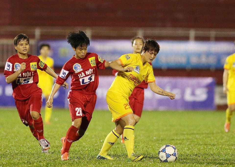 Nữ TPHCM 1 bị đe doạ lật đổ khỏi ngôi vô địch