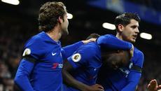 """Morata vô duyên, Chelsea nhọc nhằn hạ """"Thiên nga đen"""""""