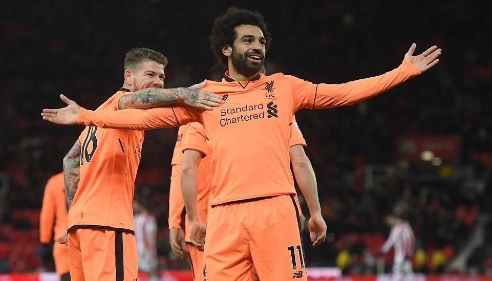Salah sáng rực, Liverpool thắng tưng bừng
