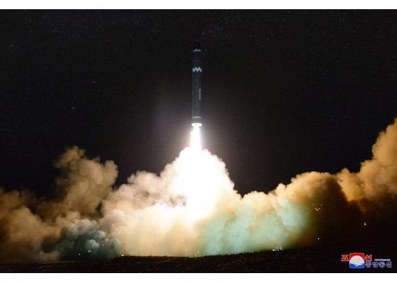 Cận cảnh tên lửa 'mạnh nhất' Triều Tiên vừa phóng