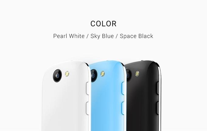 Smartphone 4G siêu nhỏ, màn hình chỉ 2,45-inch