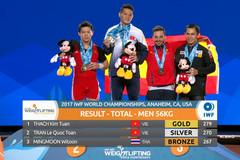 Thạch Kim Tuấn giành 3 HCV giải vô địch thế giới