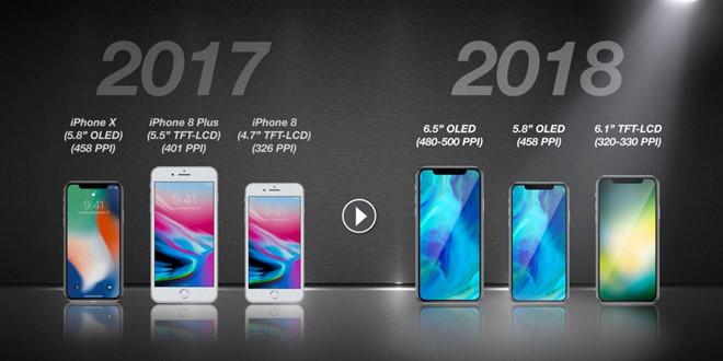iPhone 2018 sẽ đổi mới tên gọi hoàn toàn
