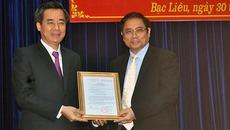 Ông Nguyễn Quang Dương làm Bí thư Tỉnh uỷ Bạc Liêu