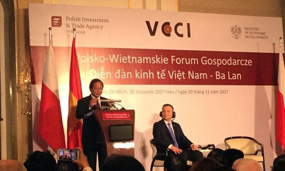 Bộ trưởng Trương Minh Tuấn,Thông tin và Truyền thông,Việt Nam,Ba Lan