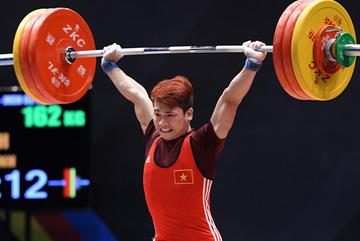 ĐKVĐ SEA Games Trịnh Văn Vinh giành HCV cử tạ thế giới