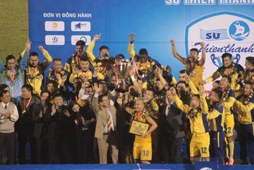 Thắng đậm Bình Dương, SLNA vô địch cúp Quốc gia 2017
