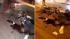 Xe máy đâm nhau, 2 tài xế chết tại chỗ