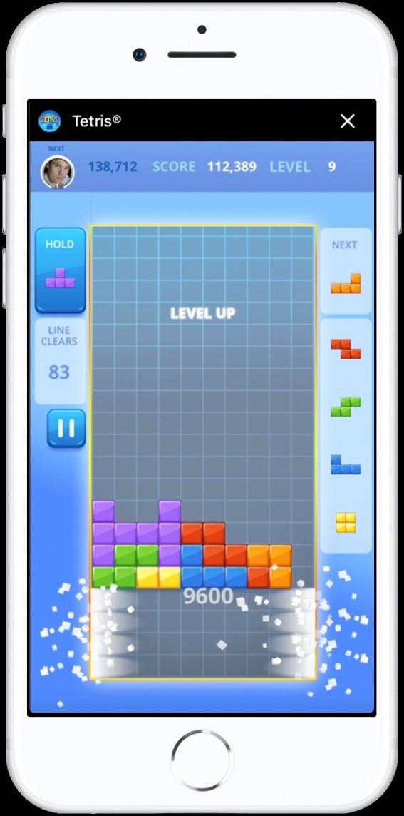 Game xếp hình huyền thoại vừa có mặt trên Facebook Messenger