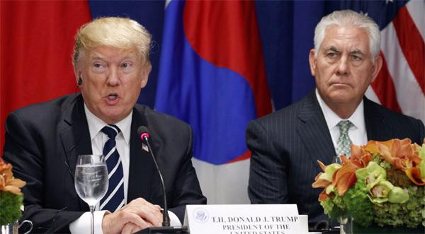Ông Trump định thay Ngoại trưởng?