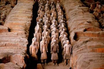 Vũ khí ghê gớm của đội quân đất nung mộ Tần Thủy Hoàng