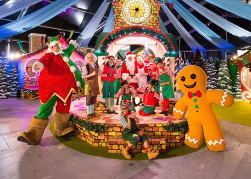Giáng sinh thần tiên ở Singapore