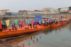 Cầu phao gần 160 tỷ thông thương Việt - Trung