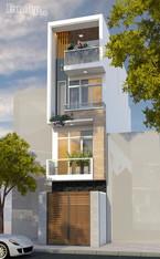 Tư vấn xây nhà 45m2 có 4 tầng với kinh phí tiết kiệm