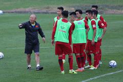 U23 ViệtNamsang Trung Quốc sớm, đấuPalestinetrước giải châu Á