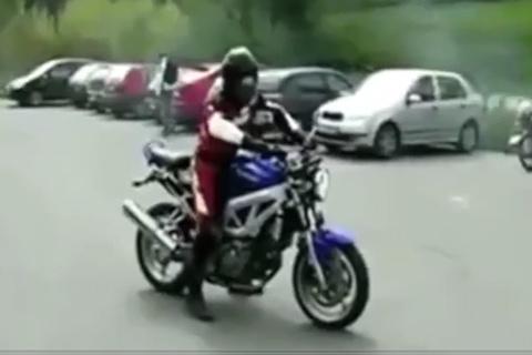 Khi các biker 'phá' xe