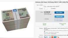 Muốn có tiền giấy 100 đồng phải chịu phí đổi cao gấp hàng trăm lần