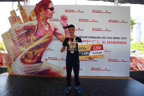 Giải Marathon quốc tế TP.HCM Techcombank: Lan tỏa tinh thần vượt khó
