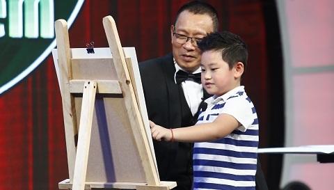 MC Lại Văn Sâm làm học trò của 'thầy giáo' 6 tuổi