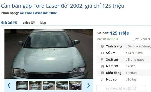Dưới 140 triệu đồng, mua được ô tô cũ chính hãng nào?