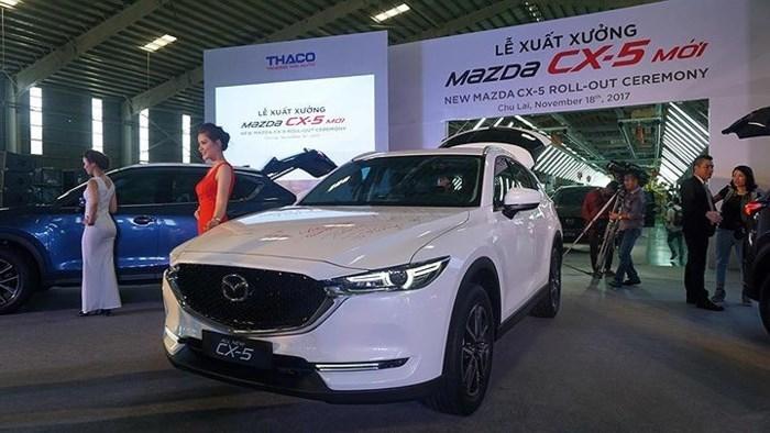 Điểm qua 6 mẫu xe mới ra mắt thị trường Việt Nam