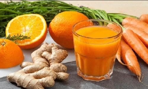 nước ép cà rốt,nước ép gừng,nước ép,cà rốt,gừng