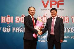 Bầu Tú thay bầu Thắng làm Chủ tịch VPF