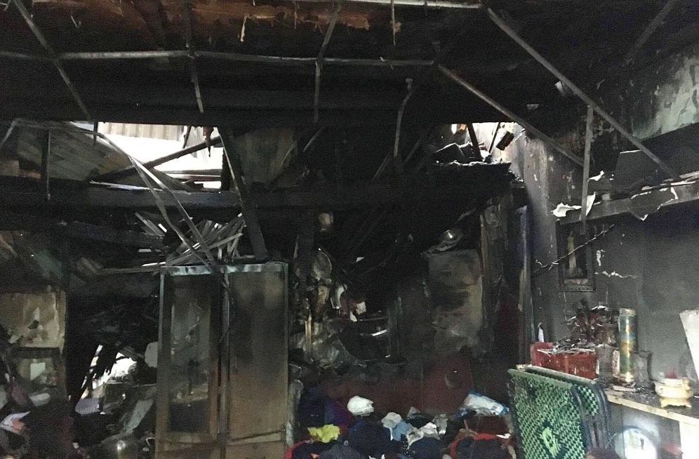 Vụ cháy ở quận 11: Chồng bất lực nhìn vợ, con kẹt trong biển lửa