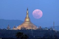 Hình ảnh siêu Mặt Trăng tuyệt đẹp trên khắp thế giới