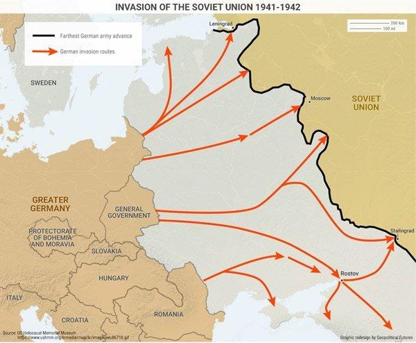 Nước Đức đã thua Liên Xô chỉ vì một sai lầm này