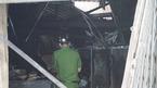 Hiện trường tan hoang vụ cháy 3 mẹ con tử vong ở Sài Gòn