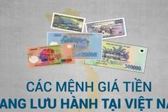 Các mệnh giá tiền đang lưu hành, thanh toán tại Việt Nam