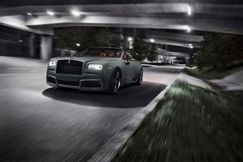 Rolls-Royce Dawn mạnh mẽ với gói độ cơ bắp