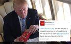 Tiết lộ suất đồ ăn nhanh ưa thích của ông Trump