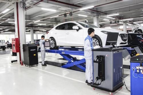 3 khác biệt tại xưởng dịch vụ Mazda Phạm Văn Đồng