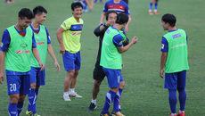 Công Phượng, U23 Việt Nam cười như được mùa trên sân tập