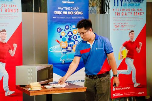Ý tưởng độc đáo trong '1 tỷ khởi nghiệp cùng Saigon Co.op'