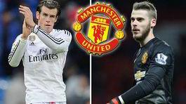 Bale mặc áo số 10 ở MU, De Gea ký mới 5 năm