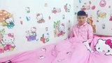 Nam sinh được gọi 'Hồng công chúa' vì quá yêu Hello Kitty
