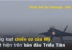Chiến cơ mạnh nhất của Mỹ thị uy trên bán đảo Triều Tiên