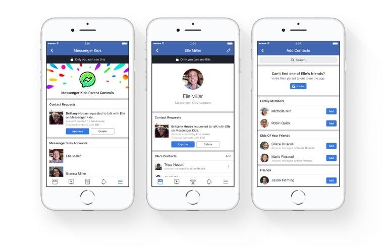 Facebook,trẻ em,mạng xã hội,Facebook Messenger