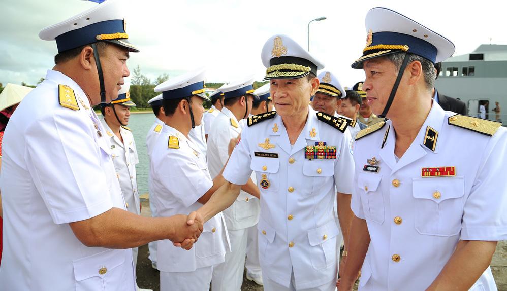 hải quân,tuần tra chung,Việt Nam,Campuchia