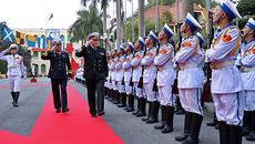 Đô đốc, Tư lệnh Hải quân Nga thăm Việt Nam