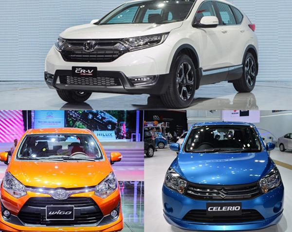 Honda CR-V,Toyota Wigo,Suzuki Celerio,Kia Morning,ô tô Mazda,ô tô giá rẻ,xe nhỏ giá rẻ,Mazda CX-5