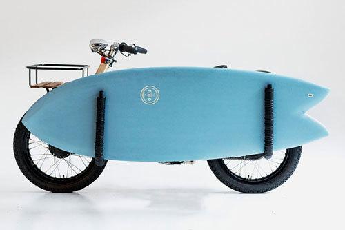 Honda Super Cub độ cho người thích lướt sóng