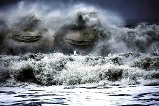 Bí ẩn con sóng nuốt trọn tàu bè trên biển