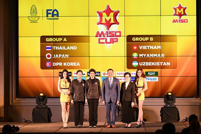 U23 Việt Nam,HLV Park Hang Seo,M150 Thái Lan,U23 châu Á 2018,M150 cup 2017,U23 Thái Lan