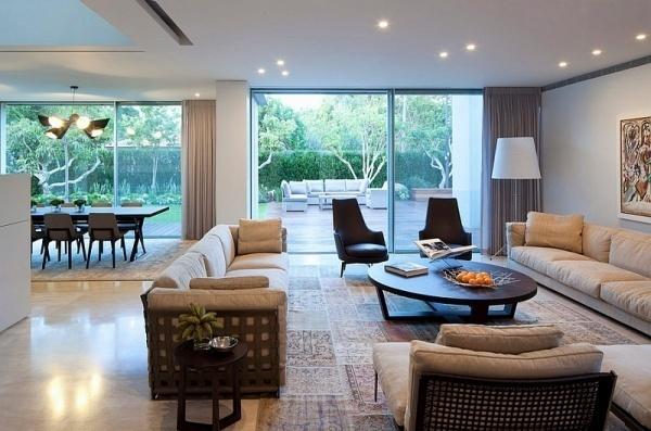 nhà đẹp,thiết kế nhà,bí quyết giúp trần nhà cao hơn
